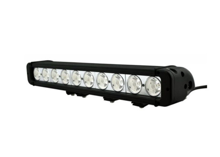 Strong White LED Off Road Driving Lights Single Row 15 Inch Led Light Bar